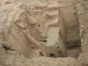 Excavations in Kohandezh in 1940 by american archeologists in Neyshabur(Photo taken 2007)