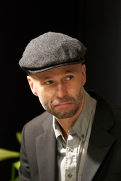 English: Swedish crime writer Johan Theorin at Göteborg Book Fair 2011.