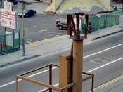 Air-raid siren in downtown Los Angeles SD-10