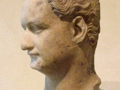 English: Bust of the Roman Emperor Domitian (reigned 81–96), Capitoline Museums, Rome