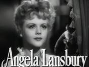 Cropped screenshot of Angela Lansbury from the trailer for the film The Picture of Dorian Gray.