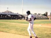 Picture of Michael Jordan which I took when he was in the Scottsdale Scorpians