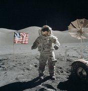 December 7–19: Apollo 17, the last manned Moon mission