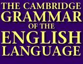 Logo of The Cambridge Grammar of the English Language