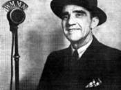 Aleshire at WMMN-AM in 1939