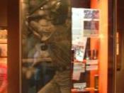 The display of Ichiro Suzuki, which shows the Ichi-meter, record for hits in a season for Ichiro Suzuki in 2004.