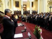 Congresista Manuel Zerillo en Evento por Aniversario de Huarochirí