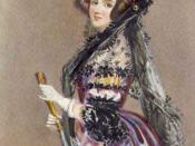 Watercolor portrait of Ada Lovelace