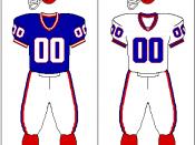 Buffalo Bills uniform: 1987-2001
