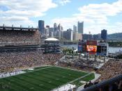 Heinz Field in Pittsburgh, Pennsylvania.