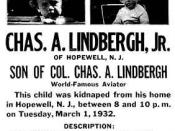 Auerbach covered the Lindbergh Kidnapping as a reporter/photographer.