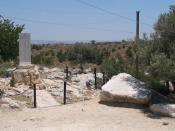 English: Givat Koach (Hill of 28) memorial, Israel.
