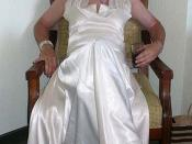 Bridesmaid In Satin Gown