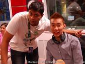 English: Burn and Dato' Lee Chong Wei