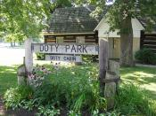 Doty Park, Doty Island
