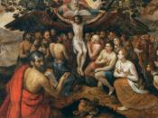 Frans Floris - The Sacrifice of Jesus Christ, Son of God, Gathering and Protecting Mankind - WGA7949