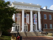 English: The Adele H. Stamp Student Union on the campus of the University of Maryland, College Park.