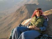 English: Bedouin resting at the mount sinai. More pictures of my travel in Egypt and Israel