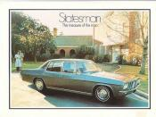 Holden HQ Statesman brochure