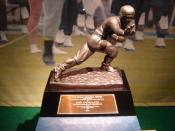 John Cappelletti's 1973 Heisman Trophy is part of an exhibit at the Penn State All-Sports Museum located at Beaver Stadium, on the campus of the Pennsylvania State University.