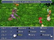 Final Fantasy III for the Nintendo DS, a single-player role-playing video game.