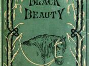 English: Cover of the novel Black Beauty, first edition 1877, published by London: Jarrold and Sons