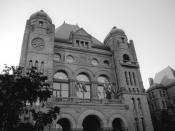 Ontario Legislative Building, Toronto, Canada in 2007.