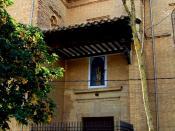 English: Portada de la iglesia del convento de Santa Clara de Estella, Navarra, España