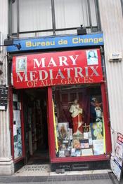 English: Mary Mediatrix of all Graces, O'Connell Street, Dublin, Republic of Ireland, October 2010