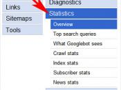 Google Webmaster Central: Tool Options