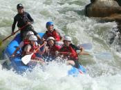 English: Whitewater Rafting at the USNWC