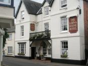 English: The Lorna Doone Hotel