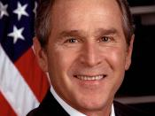George W. Bush official photo.