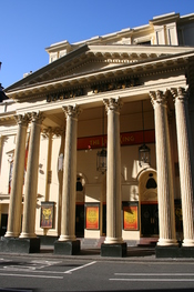 A view of Lyceum Theatre front in London