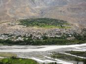 English: A view of Kargil, India. Magyar: Kargil (India) látképe.