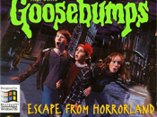 Boxart of Goosebumps: Escape from Horrorland