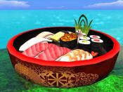 In Second Life, Sushi eats YOU!