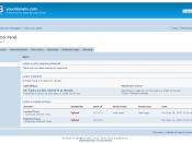phpBB3 Moderator Control Panel.
