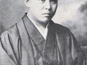 26 or 27 year-old Jun'ichirō Tanizaki, in 1913.