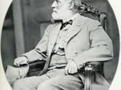 English: Confederate General-in-Chief Robert E. Lee photographed in 1865.