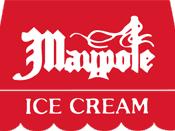 The logo of Maypole Ice Creams