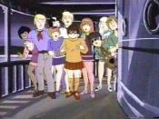 Josie and the Pussycats and the Mystery, Inc. gang join forces in a 1973 episode of The New Scooby-Doo Movies,