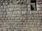 Inca Stone Architecture - Machu Picchu - Peru 05