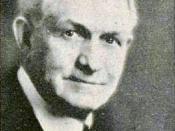 English: David Oman McKay, the ninth president of (LDS Church).