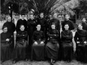 Jesuit members of the faculty of Los Angeles College, 1914