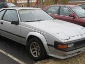 1982-1986 Toyota Supra photographed in College Park, Maryland, USA.