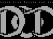 DrinkOrDie ASCII .nfo header. Their slogan reads