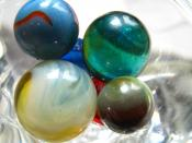 English: Picture of marbles from my collection