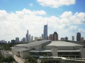 The Gold Coast Convention and Exhibition Centre.