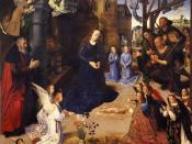 The Portinari tryptich (middle panel)